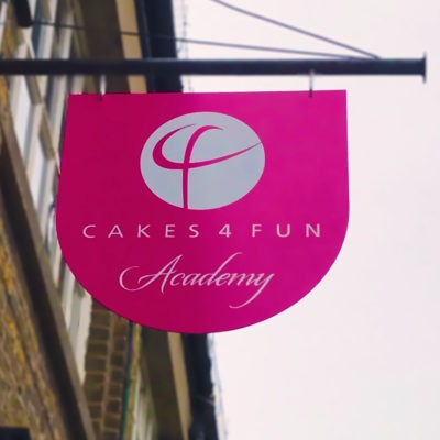 cakes 4 fun shop outside with logo