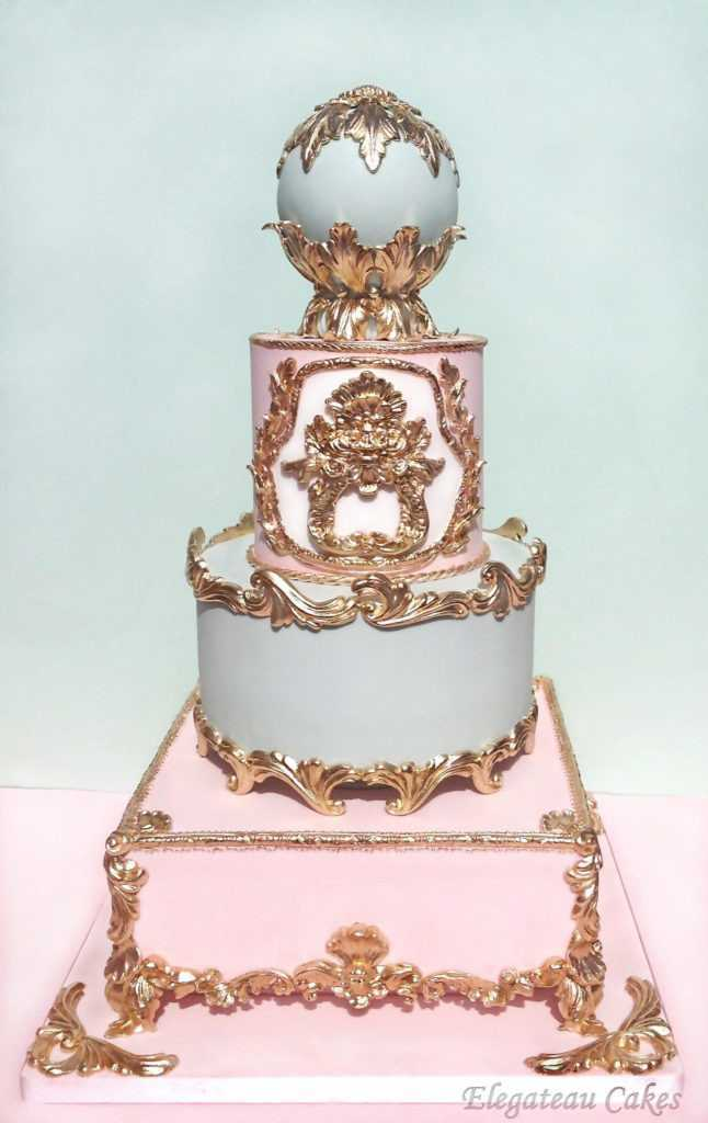 Baroque Wedding Cakes